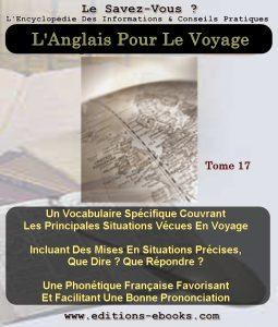 Tome 17 anglais voyage